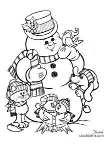 kardan adam ve ailesi