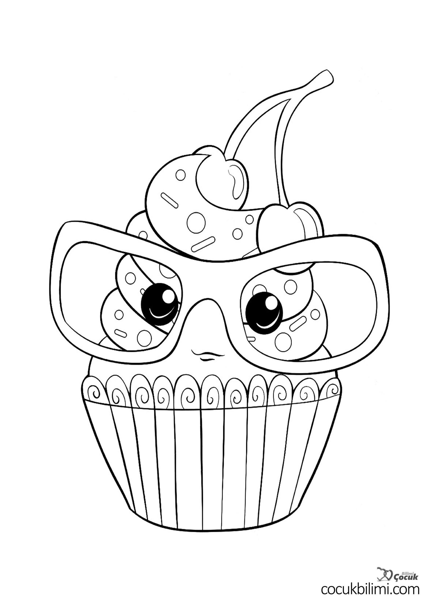 cupcake-boyama-sayfasi