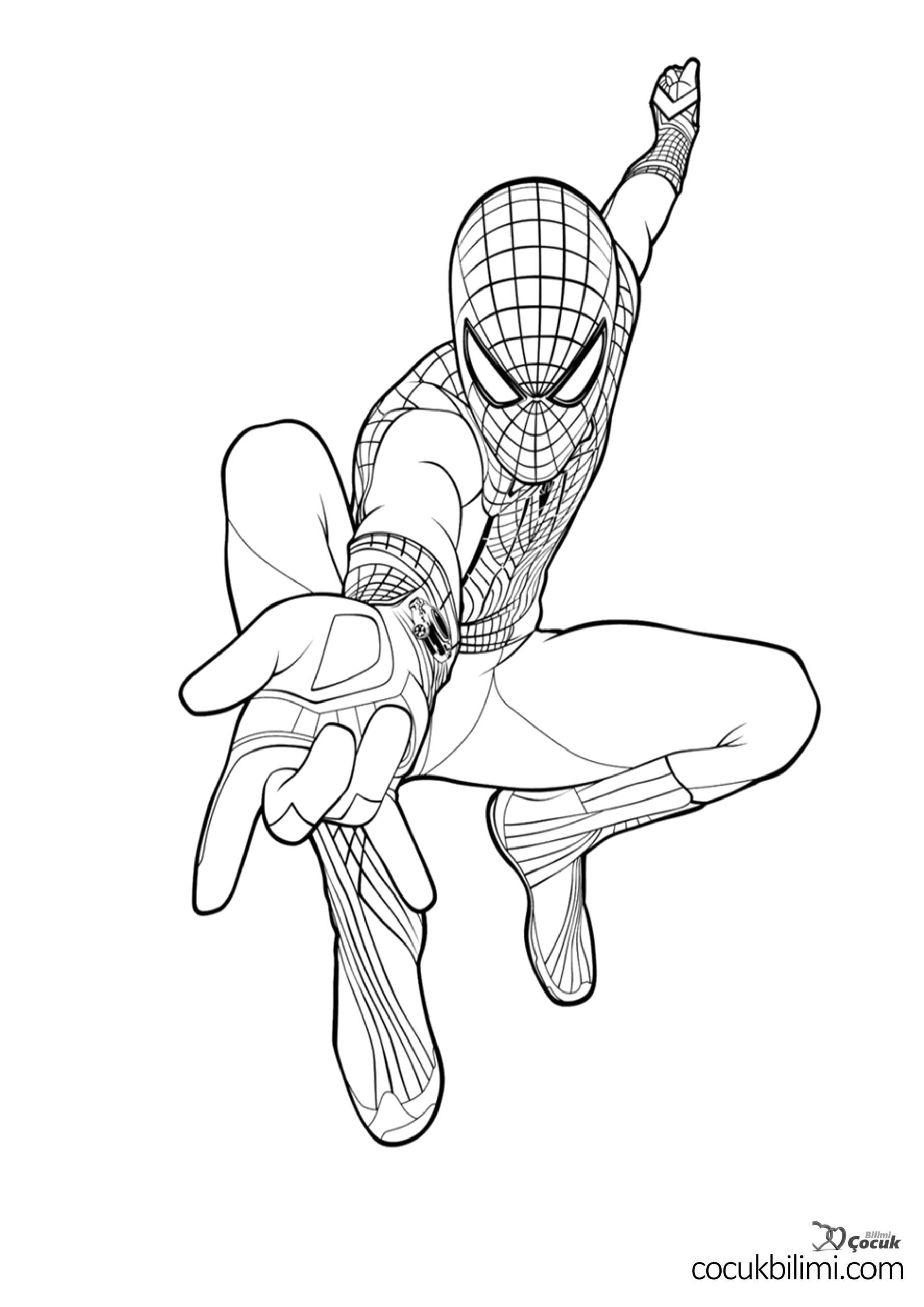 spiderman-boyama