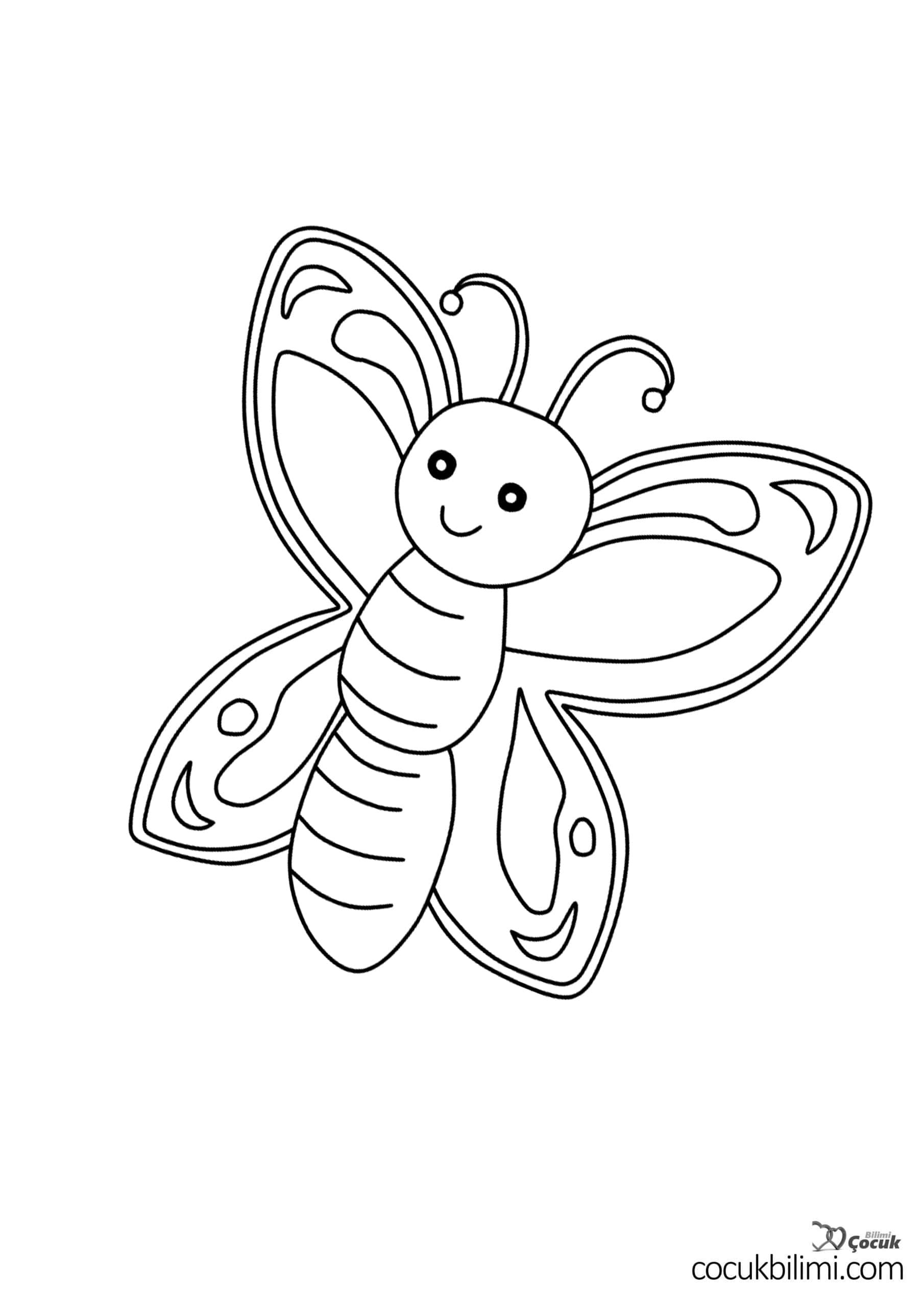 kelebek-boyama